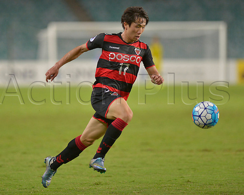 05.04.2016. Sydney Football Stadium,Sydney, Australia. AFC Champions League. Pohang midfielder Kang Sang-woo. Sydney v Pohang Steelers.