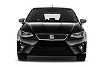 Car photography straight front view of a 2018 Seat Ibiza Xcellence 5 Door Hatchback