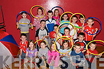 FUN TIME: Children from Ballydesmond enjoying the Tir na nOg Sports Summer Camp which took place in Ballydesmond Community Centre on Thursday last..Front L/r. Shane Murphy, melanie Carroll, Laura Dunlea, Michelle Carroll, Orla Kelly, Sean Kiely-Murphy, Eoin Collins..Second row L/r. Nicole Murphy, Liam Murphy, Brendan Murphy, Michael Clifford, Hugh Patrick O'Connor, Darra Moynihan, Aiden Lenihan, Padraig O'Leary..Back L/r. Katie Herlihy, Killian Carroll, Ciara Quilter and Niamh Murphy...