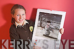 Grainne Earley Gealscoil Mhic Easmainn, Tralee age 8,  painting was selected for the Texco Calendar 2011.