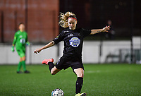Woluwe's Magali Dinon (6) pictured during a female soccer game between Sporting Charleroi and FC Femina White Star Woluwe on the second matchday of the 2020 - 2021 season of Belgian Scooore Women s SuperLeague , friday 4 th of September 2020  in Marcinelle , Belgium . PHOTO SPORTPIX.BE | SPP | DAVID CATRY