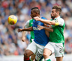 Alfredo Morelos and Darren McGregor