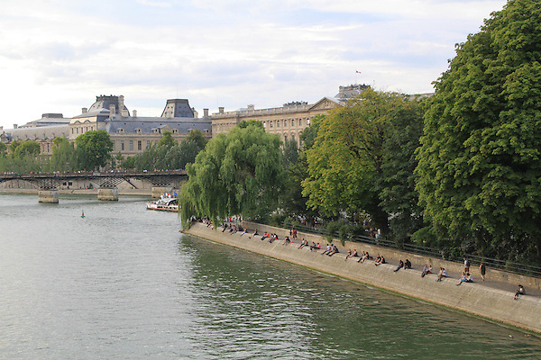 Pont Neuf and Seine River, Paris, France, Europe.