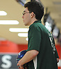 Mike Mele of Seaford gets ready to roll during the Nassau County varsity boys bowling small schools championship at AMF Garden City Lanes  on Saturday, Feb. 3, 2018.