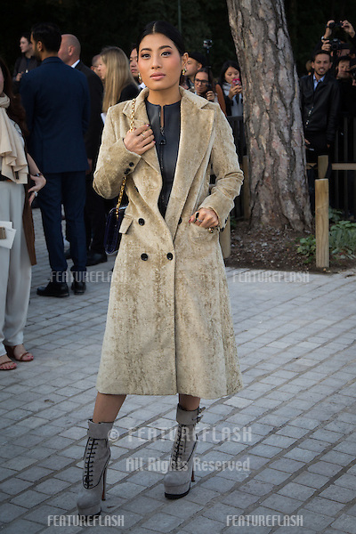 Princess Siriwanwaree Nareerat Of Thailand attend Louis Vuitton Show Front Row - Paris Fashion Week  2016.<br /> October 7, 2015 Paris, France<br /> Picture: Kristina Afanasyeva / Featureflash