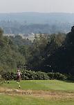 GROESBEEK - Golfbaan Rijk van Nijmegen. Nijmeegse baan . Teebozx Hole 16 .  Op de achtergrond ligt Duitsland. COPYRIGHT KOEN SUYK