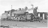 K-37 #492 parked in yard.<br /> D&amp;RGW  Durango, CO