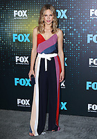 www.acepixs.com<br /> <br /> May 15 2017, New York City<br /> <br /> Halston Sage arriving at the 2017 FOX Upfront at Wollman Rink, Central Park on May 15, 2017 in New York City.<br /> <br /> By Line: Nancy Rivera/ACE Pictures<br /> <br /> <br /> ACE Pictures Inc<br /> Tel: 6467670430<br /> Email: info@acepixs.com<br /> www.acepixs.com