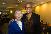 The Hyde Park Chamber of Commerce held its 96th Annual Anniversary Dinner Thursday evening at the LaQuinta Inn and Suites located at 4900 S. Lake Shore Drive.<br /> <br /> 7668 - State Representative 25th District, Barbara Flynn Currie and 5th Ward Alderman, Leslie Hairston<br /> <br /> Please 'Like' &quot;Spencer Bibbs Photography&quot; on Facebook.<br /> <br /> All rights to this photo are owned by Spencer Bibbs of Spencer Bibbs Photography and may only be used in any way shape or form, whole or in part with written permission by the owner of the photo, Spencer Bibbs.<br /> <br /> For all of your photography needs, please contact Spencer Bibbs at 773-895-4744. I can also be reached in the following ways:<br /> <br /> Website &ndash; www.spbdigitalconcepts.photoshelter.com<br /> <br /> Text - Text &ldquo;Spencer Bibbs&rdquo; to 72727<br /> <br /> Email &ndash; spencerbibbsphotography@yahoo.com