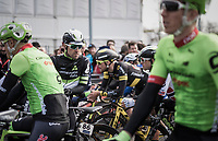 Bernhard 'Bernie' Eisel (AUT/DimensionData) at the start<br /> <br /> 60th E3 Harelbeke (1.UWT)<br /> 1day race: Harelbeke &rsaquo; Harelbeke - BEL (206km)