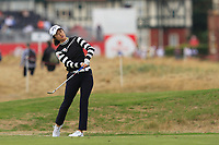 Yu Liu (CHN) on the 2nd fairway during Round 3 of the Ricoh Women's British Open at Royal Lytham &amp; St. Annes on Saturday 4th August 2018.<br /> Picture:  Thos Caffrey / Golffile<br /> <br /> All photo usage must carry mandatory copyright credit (&copy; Golffile | Thos Caffrey)