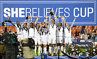Washington, D.C. - March 7, 2017: France defeats the U.S. Women's national team 3-0 to win the 2017 SheBelieves Cup at RFK Stadium.