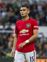 Andreas Pereira of Man Utd during the Premier League match between Newcastle United and Manchester United at St. James's Park, Newcastle, England on 6 October 2019. Photo by J GILL / PRiME Media Images.