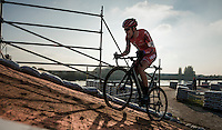 up the bridge<br /> <br /> Elite Men's Race<br /> Soudal Jaarmarktcross Niel 2016