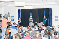 Democratic presidential candidate Senator Kirsten Gillibrand (D-NY) speaks at a town hall campaign event at the Concord Parks and Recreation Community Center in Concord, New Hampshire, USA on Sat., Apr. 6, 2019.