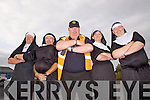 ADSAR members Willie Joe Curtin, Jim Cahille, Christy Kelliher, Helena Kelliher and Thomas Mann at the Nuns Run and Harlem Shake last Monday, all a part of the Gathering Festival, Abbeyfeale.