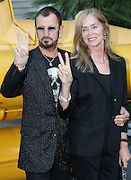 Ringo Starr & wife Barbara Bacht attend the inauguration of PASSION/OCEAN' exhibition - Monaco