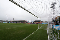 General view of the ground ahead of Arsenal Women vs Liverpool Women, Barclays FA Women's Super League Football at Meadow Park on 24th November 2019