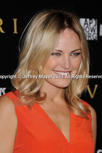 LOS ANGELES, CA - January 13: Malin Akerman attends Save The Children's U.S. Programs And Artists For Peace And Justice Hosted By Bulgari at Ron Burkle's Green Acres Estate on January 13, 2011 in Beverly Hills, California.