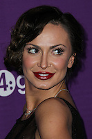 CULVER CITY, LOS ANGELES, CA, USA - FEBRUARY 27: Karina Smirnoff at the 1st Annual unite4:humanity Presented by unite4:good and Variety held at Sony Pictures Studios on February 27, 2014 in Culver City, Los Angeles, California, United States. (Photo by Xavier Collin/Celebrity Monitor)