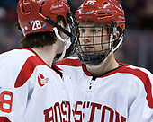 Oskar Andrén (BU - 26) - The Boston University Terriers defeated the University of Massachusetts Minutemen 3-1 on Friday, February 3, 2017, at Agganis Arena in Boston, Massachusetts.The Boston University Terriers defeated the visiting University of Massachusetts Amherst Minutemen 3-1 on Friday, February 3, 2017, at Agganis Arena in Boston, MA.