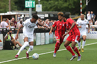 Reeco Hackett-Fairchild of Bromley in action during Bromley vs Fulham, Friendly Match Football at the H2T Group Stadium on 6th July 2019