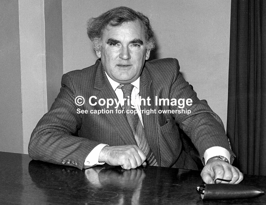 Tim Pat Coogan, Editor, Irish Press, newspaper, Dublin, Ireland, 198101000011TPC2..Copyright Image from Victor Patterson, 54 Dorchester Park, Belfast, United Kingdom, UK...For my Terms and Conditions of Use go to http://www.victorpatterson.com/Victor_Patterson/Terms_%26_Conditions.html