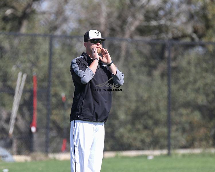 Vandegrift head baseball coach Allen McGee.