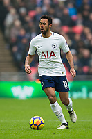 Tottenham Hotspur's Mousa Dembele in action <br /> <br /> Photographer Craig Mercer/CameraSport<br /> <br /> The Premier League - Tottenham Hotspur v Huddersfield Town - Saturday 3rd March 2018 - Wembley Stadium - London<br /> <br /> World Copyright &copy; 2018 CameraSport. All rights reserved. 43 Linden Ave. Countesthorpe. Leicester. England. LE8 5PG - Tel: +44 (0) 116 277 4147 - admin@camerasport.com - www.camerasport.com