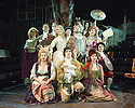 London, UK. 29.11.2013. CANDIDE opens at the Menier Chocolate Factory, directed by Matthew White and choreographed by Adam Cooper. Picture shows: The Company. Photograph © Jane Hobson.