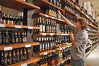 - Eataly, market for the sale of quality Italian food, the shelf of beers<br /> <br /> - Eataly, market per la vendita del cibo italiano di qualit&agrave;, lo scaffale delle birre