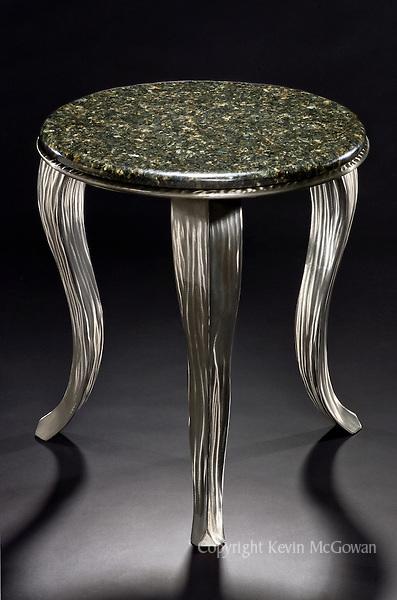 Hand made ceramic pitcher by artist Mark Hudak
