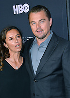 """LOS ANGELES, USA. June 06, 2019: Leonardo DiCaprio & Leila Conners at the premiere for """"Ice on Fire"""" at the LA County Museum of Art.<br /> Picture: Paul Smith/Featureflash"""