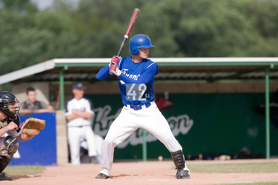 BASEBALL - GREEN ROLLER PARK - PRAGUE (CZECH REPUBLIC) - 27/06/2008 - PHOTO: CHRISTOPHE ELISE.KENJI HAGIWARA (TEAM FRANCE)