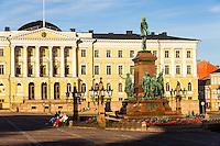 Finland, Helsinki. The Helsinki City Hall.
