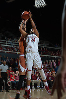 Stanford, Ca - November 14, 2016: The Stanford Cardinal defeats the visiting Texas Longhorns 71-59 at Maples Pavilion.