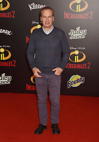 HOLLYWOOD, CA - JUNE 05: Bob Odenkirk attends the premiere of Disney and Pixar's 'Incredibles 2' at the El Capitan Theatre on June 5, 2018 in Los Angeles, California.<br /> CAP/ROT/TM<br /> &copy;TM/ROT/Capital Pictures