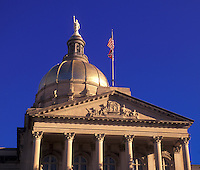 state capitol, Atlanta, state house, GA, Georgia, The State Capitol Building in the capital city of Atlanta.