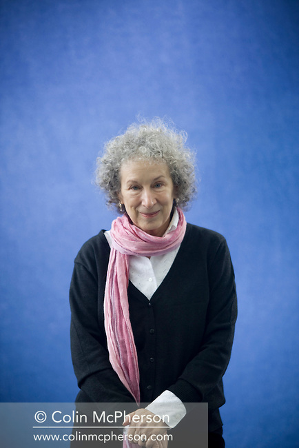 One of the world's leading literary lights, Canadian author Margaret Atwood,  pictured at the Edinburgh International Book Festival where she read exclusively from an unpublished set of stories about Nova Scotia. The three-week event is the world's biggest literary festival and is held during the annual Edinburgh Festival. 2008 was the Book Festival's 25th anniversary and featured talks and presentations by more than 500 authors from around the world.