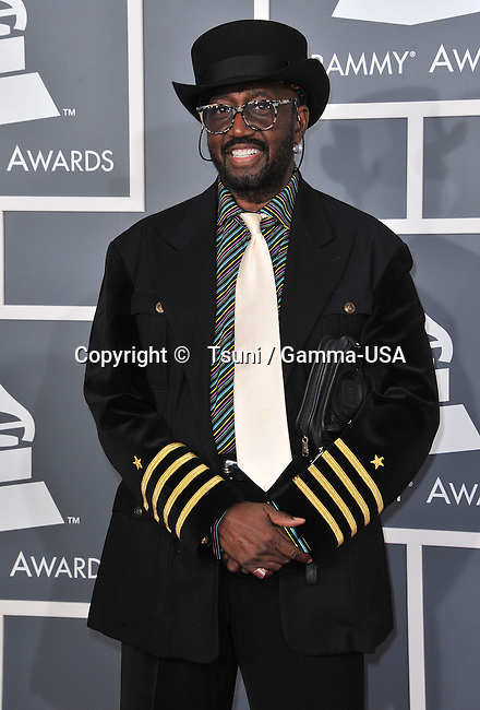 Otis Williams at  the 55th Ann. Grammy Awards 2013 at the Staples Center in Los Angeles.