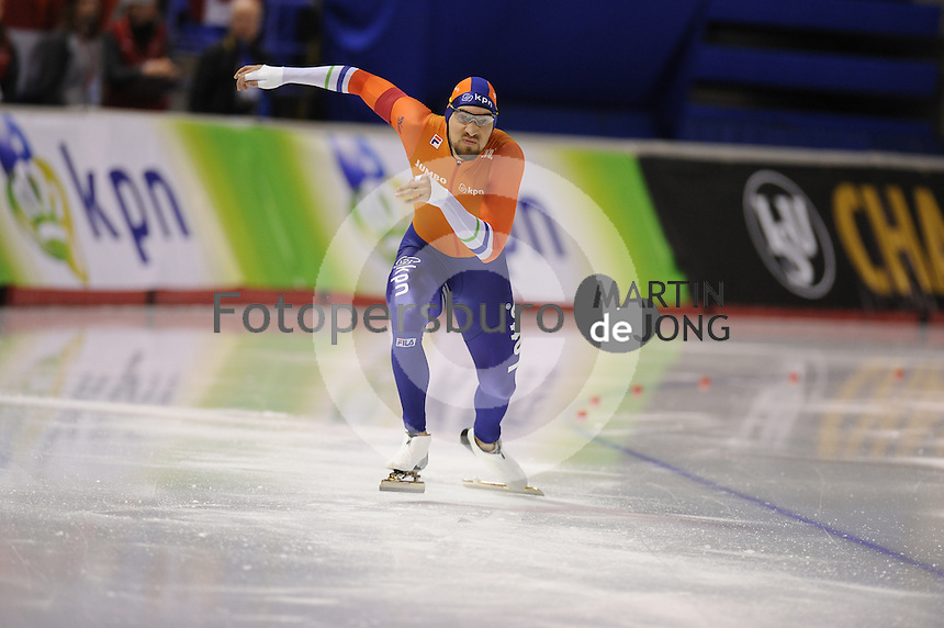SPEEDSKATING: CALGARY: Olympic Oval, 25-02-2017, ISU World Sprint Championships, 500m Men, Kjeld Nuis (NED), ©photo Martin de Jong