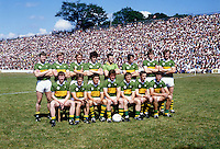 The Kerry team that won the centenary Munster final in Killarney captained by Ambrose O'Donovan in 1984.<br /> Photo: Don MacMonagle <br /> e: info@macmonagle.com
