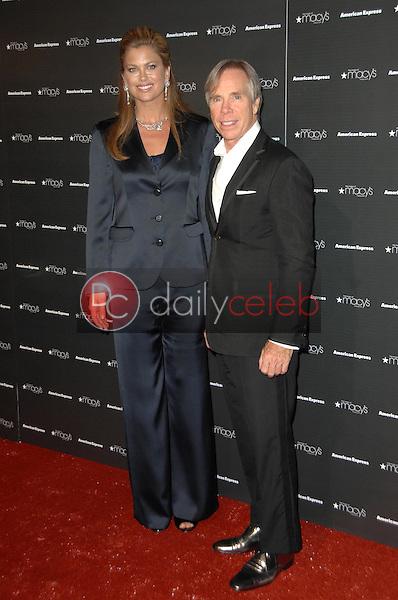 Kathy Ireland and Tommy Hilfiger<br />at the Macy's Passport 2008 Gala. Barker Hanger, Santa Monica, CA. 09-25-08<br />Dave Edwards/DailyCeleb.com 818-249-4998