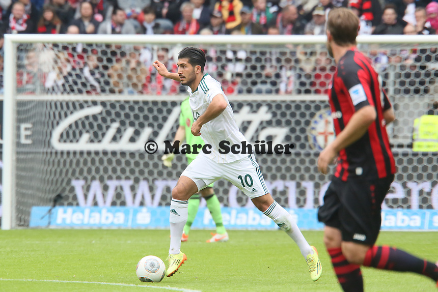 Emre Can (Bayer) - Eintracht Frankfurt vs. Bayer Leverkusen, Commerzbank Arena