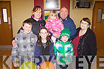 Enjoying the Easter Party in Knockanure last Sunday was front l-r: Connor and Shauna Pierce, Jamie Moloney, back l-r: Marie, Kayla, Liam and Hanna Pierce.