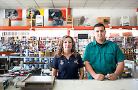 Gabriel Acosta and Rosa A. Olivas. Hardware store owners in Mexicali, Baja California, and San Luis Rio Colorado, Sonora.  Mexico
