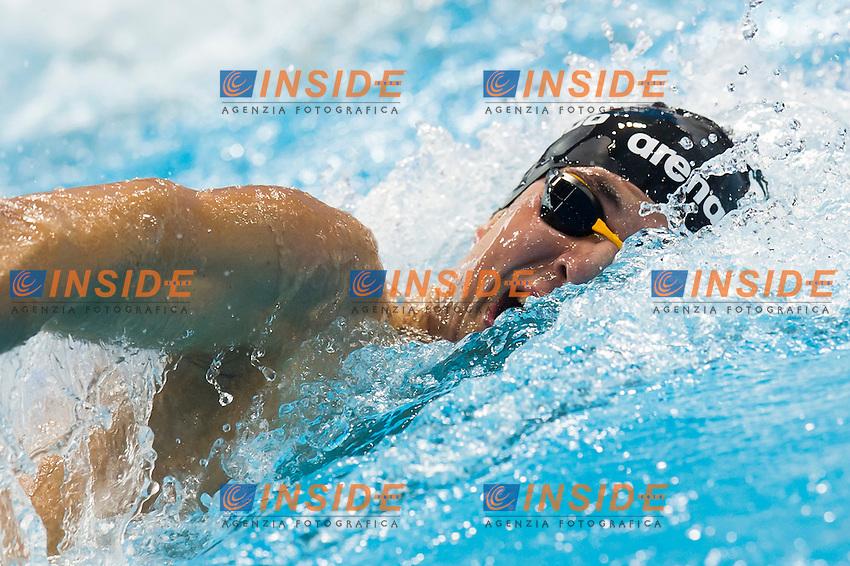 D'ARRIGO Andrea Mitchell ITA<br /> London, Queen Elizabeth II Olympic Park Pool <br /> LEN 2016 European Aquatics Elite Championships <br /> Swimming<br /> Men's 200m freestyle final  <br /> Day 10 18-05-2016<br /> Photo Giorgio Perottino/Deepbluemedia/Insidefoto