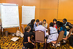 25 June, 2018, Kuala Lumpur, Malaysia : Role playing during the  What Is Meaningful Youth Engagement session at the Girls Not Brides Global Meeting 2018 at the Kuala Lumpur Convention Centre. Picture by Graham Crouch/Girls Not Brides