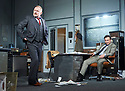 Glengarry Glen Ross by David Mamet, directed by Sam Yates. With Robert Glenister as Dave Moss, Christian Slater as Ricky Roma. Opens at The Playhouse Theatre on 9/11/17.