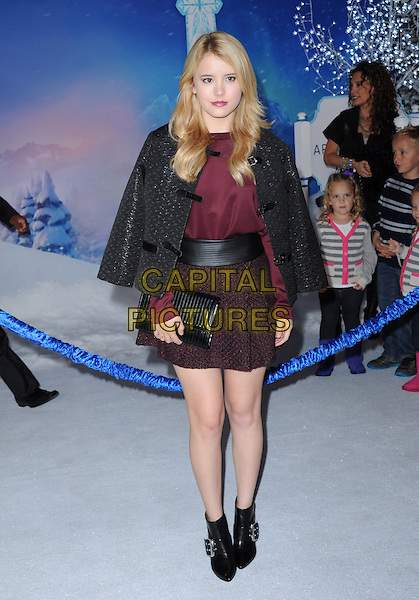 Hollywood, CA - NOVEMBER 19: Taylor Spreitler arrives at The Disney FROZEN Premiere held at The El Capitan Theatre in Hollywood, California on November 19,2012                                                                               <br /> CAP/DVS<br /> &copy;DVS/Capital Pictures